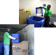 Shimar's recycling crews collect the recyclable material you generate from your business