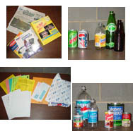 Your company, restaurant or school generates paper, cans (steel and aluminum), phone books, glass bottles, plastic bottles, fluorescent lightbulbs, computers